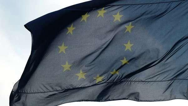 Флаги Евросоюза в Берлине. Архив