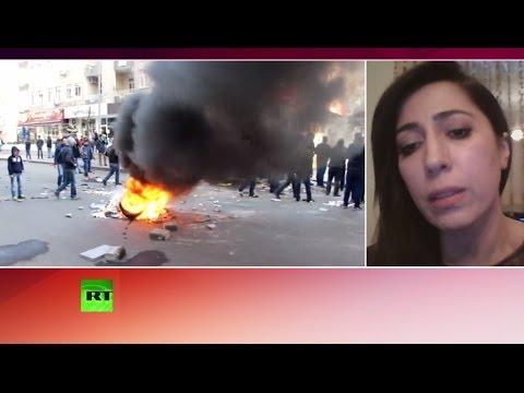 Участник протестов в Диярбакыре: Турция должна прекратить насилие над курдами