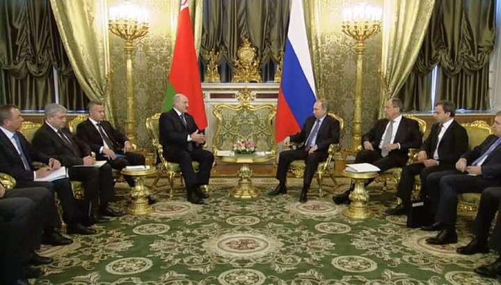 Владимир Путин рад, что Лукашенко приехал для обстоятельного разговора