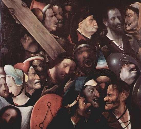 Иероним Босх, Несение креста