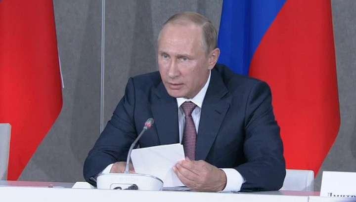 Владимир Путин приостановил действие договора о Зоне Свободной Торговли с Украиной