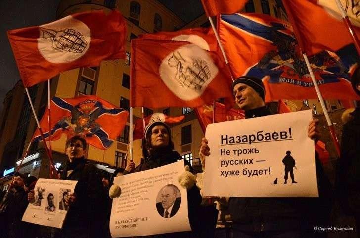 Назарбаев, не трогай русских - хуже будет!