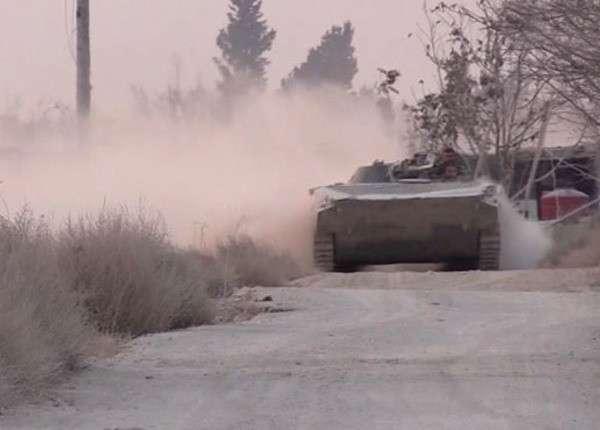 Сирийская армия заняла аэродром в окрестностях Дамаска