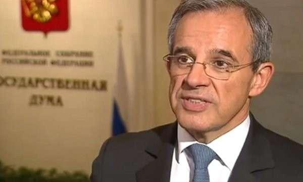 Член Нацсобрания Франции назвал «шизофреническим» отношение Парижа к Москве