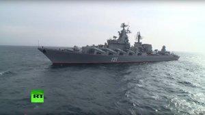 Репортаж с борта «Москвы»: новейшее вооружение на службе российских войск в Сирии