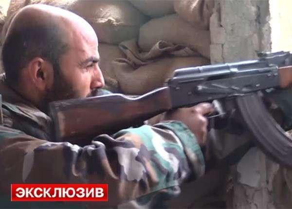 Сирийская армия уничтожает группировки террористов под Дамаском