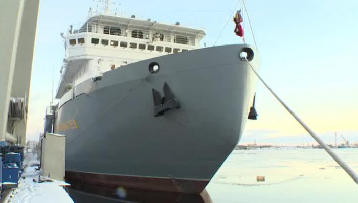 «Академик Ковалёв» - «плавучий патронташ» на службе Северного флота