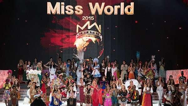 Финал международного конкурса красоты Мисс Мира-2015 в китайском городе Санья на острове Хайнань