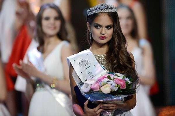 Россиянка заняла второе место в конкурсе «Мисс мира»