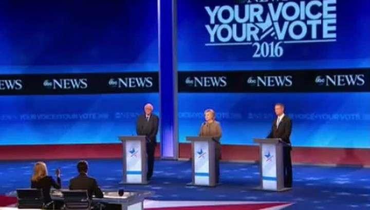 Эпилептичка Хиллари Клинтон публично назвала Трампа главным вербовщиком ИГИЛ