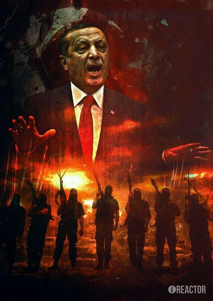 Россия уничтожила Курдистан Эрдогана и его «османские мечты»