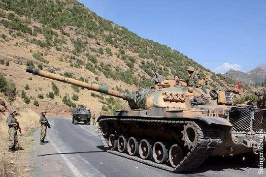 Турция объявила о выводе войск из Ирака
