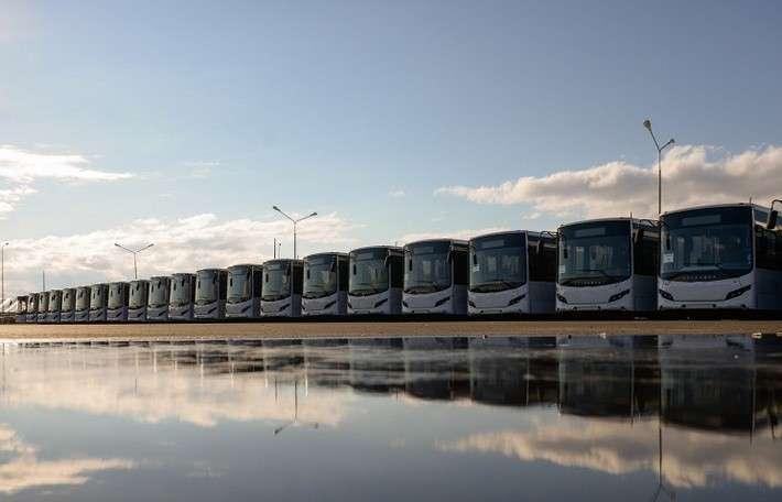 «ВОЛГАБАС» начала поставки 18-метровых автобусов в Санкт-Петербург