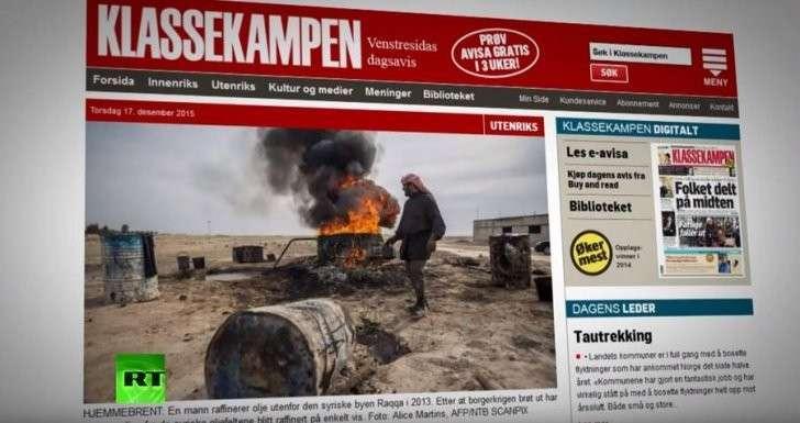Норвегия ещё в июле получила информацию о покупке Турцией нефти у ИГ