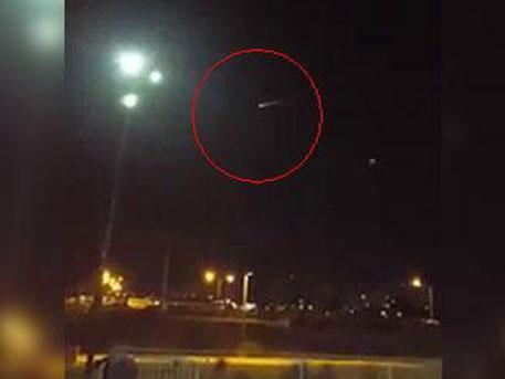 Российская ракета над Лас-Вегасом перепугала пиндосов до беспамятства