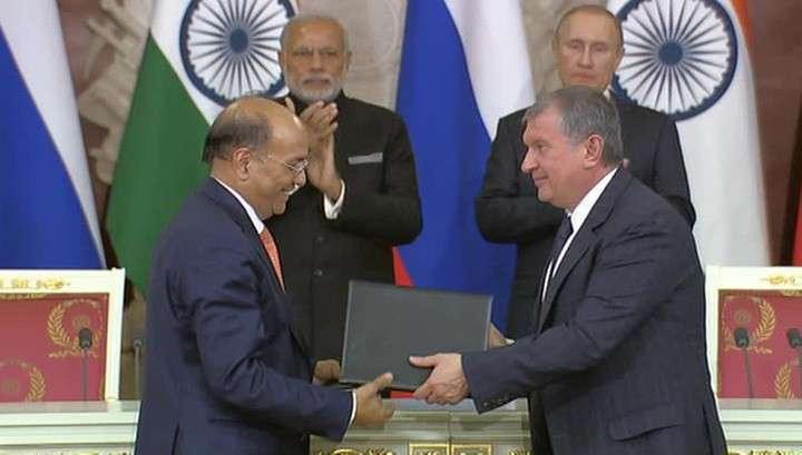 Москва и Дели договорились: российская нефть потечёт в Индию