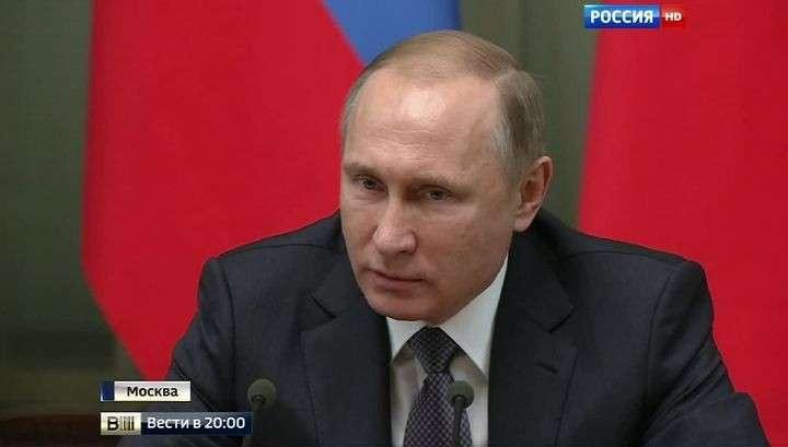 Владимир Путин подвёл итоги работы за год на заседании с Правительством