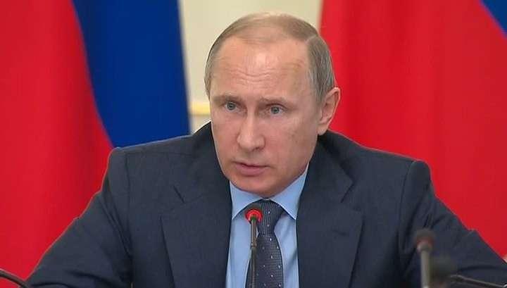 Владимир Путин заявил, что Россия ответит на санкции свободой предпринимательства