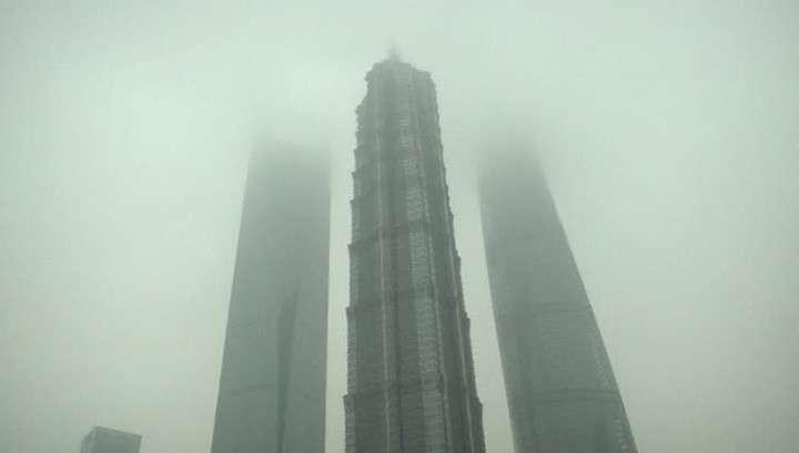 Смог над Пекином: содержание вредных веществ в воздухе превышено в 22 раза