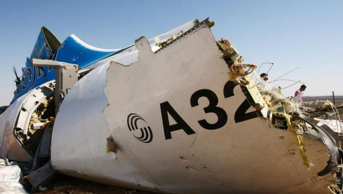 Русский аэробус над Синаем взорвали самодельной взрывчаткой