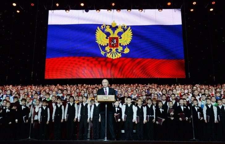 Владимир Путин на новогоднем приёме в Кремле отметил сплочённость российского народа