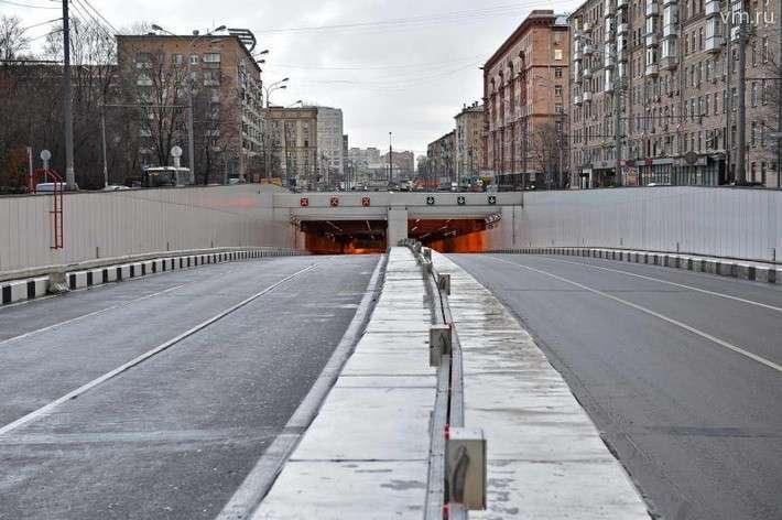 Запущено полноценное движение по Алабяно-Балтийскому тоннелю на севере Москвы