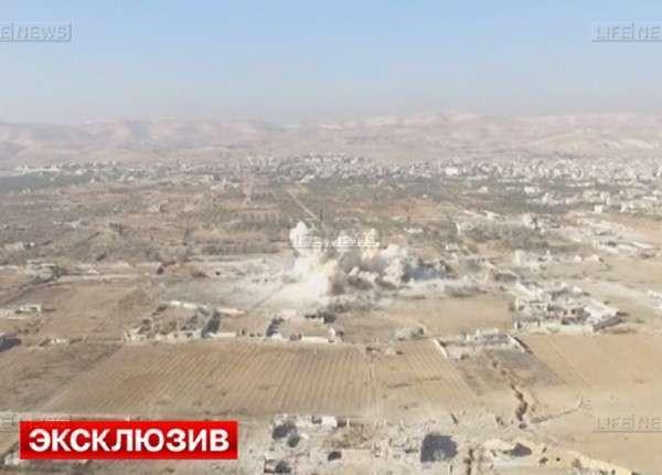 Сирийская Армия и ополченцы уничтожили подземный город боевиков вблизи Дамаска