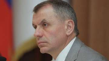 Председатель Государственного Совета Крыма Владимир Константинов. Архивное фото