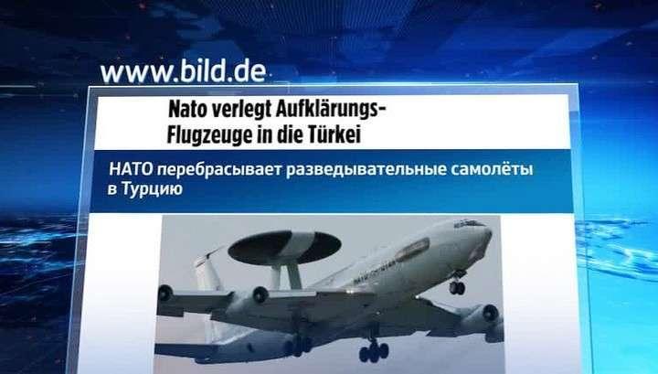 НАТО усиливает систему ПВО Турции, фактически помогая террористам