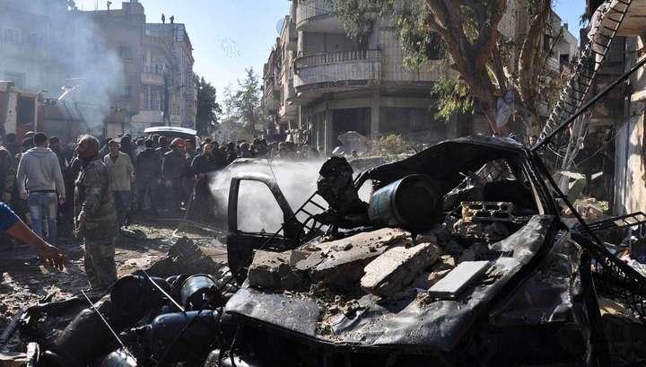 В сирийском Хомсе произошёл тройной теракт
