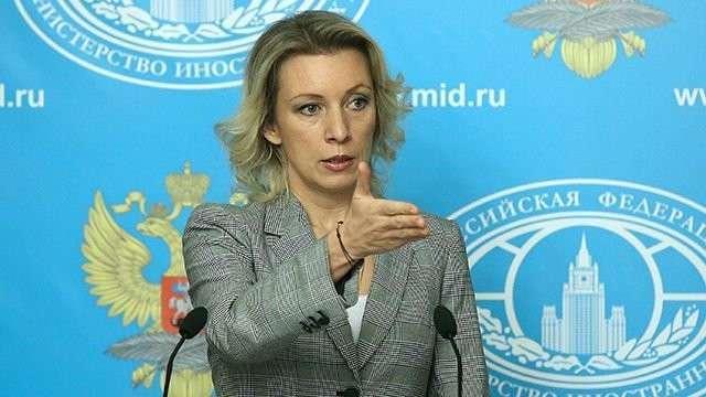 Мария Захарова прокомментировала заявления генерала США о размещении военной техники у границ РФ
