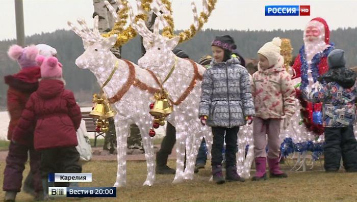 Полезно детям, выгодно бюджету: карельская Сортавала объявлена новогодней столицей России
