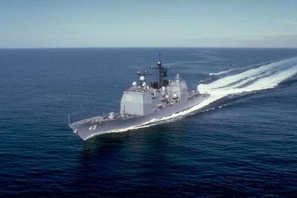 Учебные стрельбы ВМС Ирана вызвали панику на авианосце США «Гарри Трумэн»