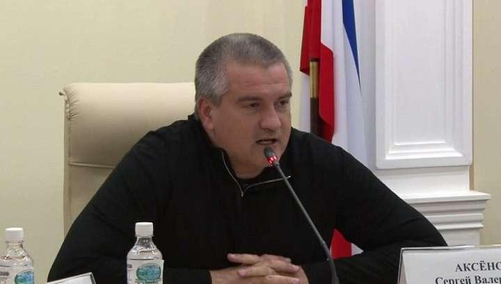 Глава Крыма: чиновники встретят Новый Год на работе, если у граждан не будет света
