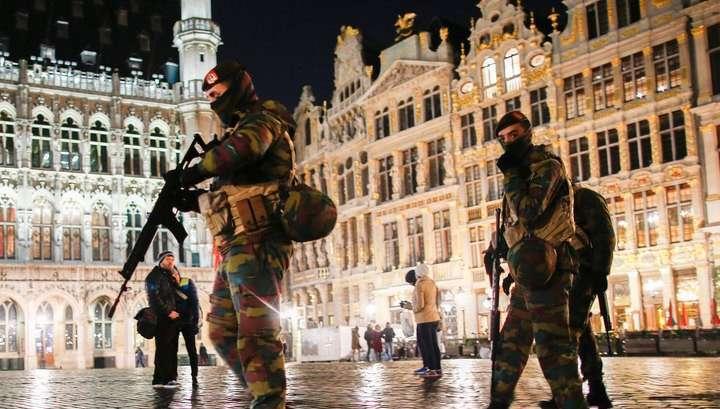 В столице Бельгии задержаны подозреваемые в подготовке терактов