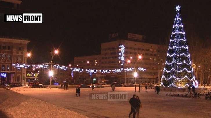 Донбасс готовится встречать Новый Год 2016!
