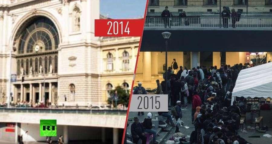 В 2015 году в Европе разразился крупнейший со времён Второй мировой войны миграционный кризис