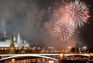 Праздничные салюты украсили города по всему миру в первые минуты 2016 года