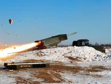 Украинские каратели стягивают «Грады» к линии разграничения