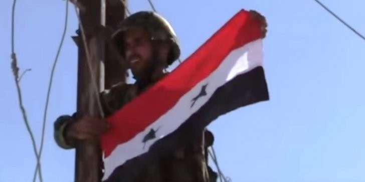 Правительственные войска Сирии отрезают террористов от границ с Иорданией