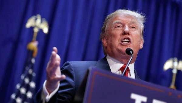Кандидат в президенты США Дональд Трамп, архивное фото