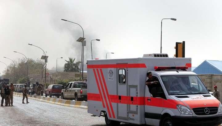 В Багдаде ракетами сожгли новенькое посольство Саудовской Аравии