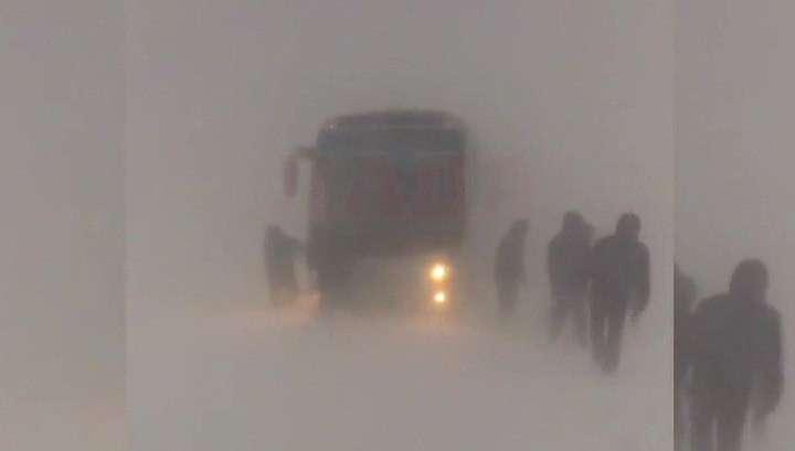 Сильнейшие метели показали настоящую силу зимы югу России и Закавказью