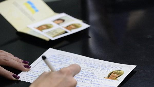 Полмиллиона украинских беженцев хотят стать гражданами России
