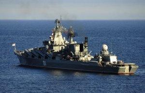 Крейсер «Варяг» вышел в Средиземное море, где сменит у берегов Сирии крейсер «Москва»