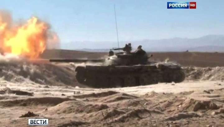 Армия Асада успешно наступает в ключевых районах Сирии