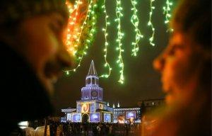 Казань в новогодние праздники вошла в тройку лучших туристических городов России