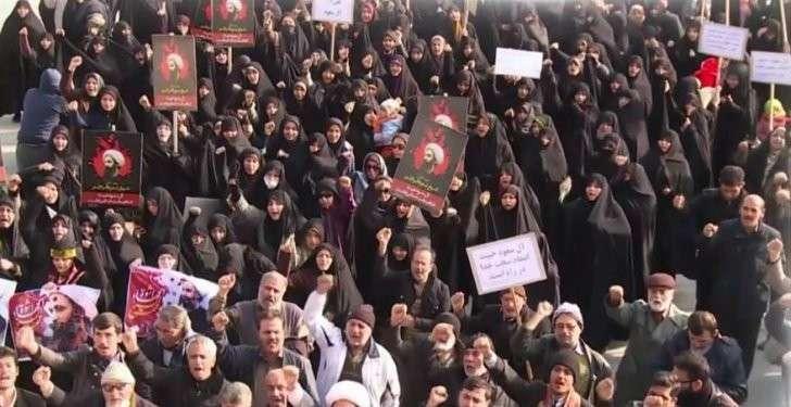 В Иране продолжаются протесты против казни шиитского проповедника в Саудовской Аравии