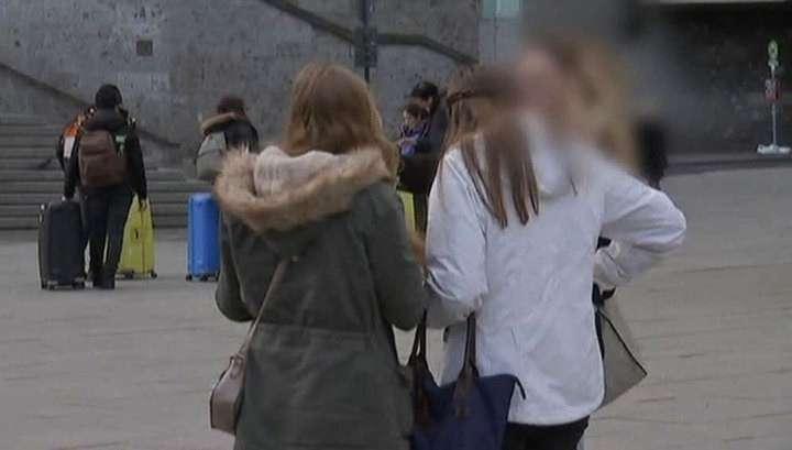 В Кёльне в Новый год мигранты грабили и срывали одежду с женщин