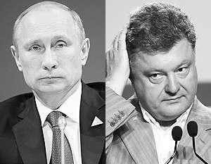 Путин не планирует встречаться с Порошенко в Нормандии